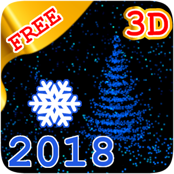 ??????3D New Year 2018 LWP free