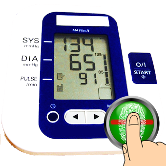 Blood Pressure Checker Finger BP Scanner Prank
