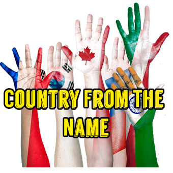Country From The Name
