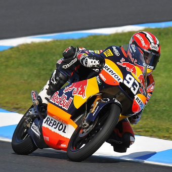 Fast Riding For MotoGP wallpaper