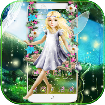 фея девушка лес тема Fairy Girl Forest