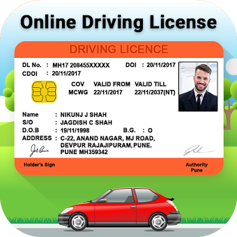 Indian Driving License Online - RTO Vehical Info