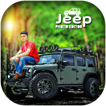 Jeep Photo Editor : Photo With Sport Jeep
