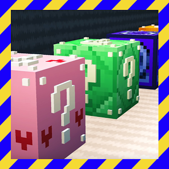 Lucky & Block [Minigame] [map for Minecraft PE]