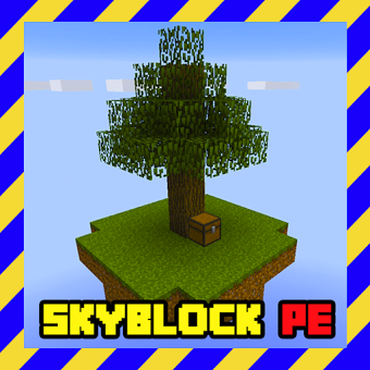 Map Skyblock for MCPE