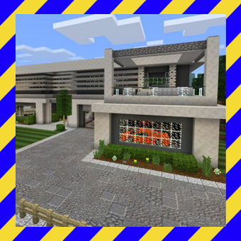 Modern House Mansion for MCPE
