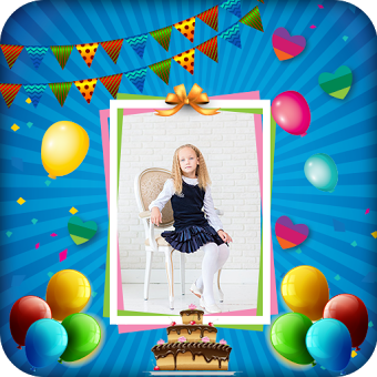 Name photo on birthday cake hd