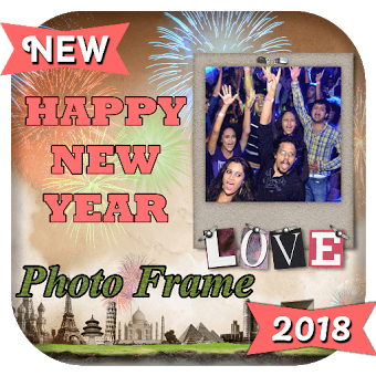 New Year Photo Frame Editor 2018 : New Year Story