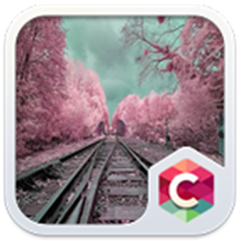 Pink Trees Theme CLauncher