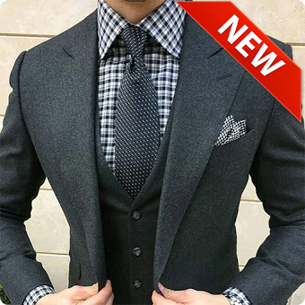 Stylish Man New Suit
