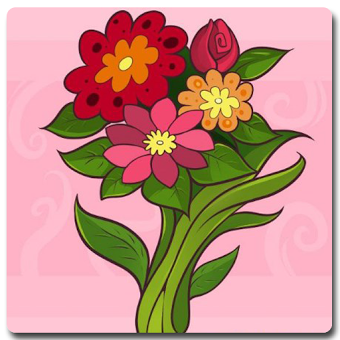Учебник Easy Draw Flower