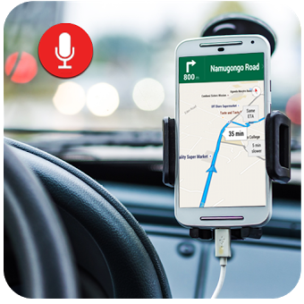 Voice Navigation Direction – GPS Map Driving Route