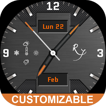 Watch Face - Ry Carbon